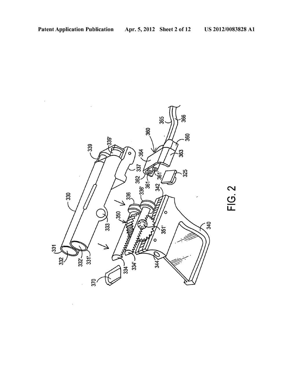 Apparatus and method for delivery of biological sealant - diagram, schematic, and image 03