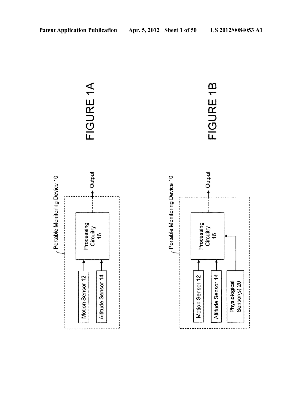 PORTABLE MONITORING DEVICES AND METHODS OF OPERATING SAME - diagram, schematic, and image 02