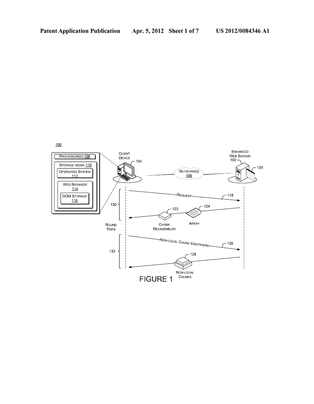 Page Loading Optimization Using Page-Maintained Cache - diagram, schematic, and image 02