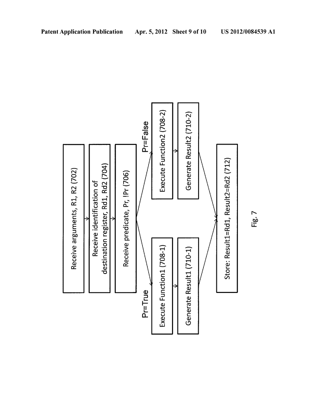 METHOD AND SYTEM FOR PREDICATE-CONTROLLED MULTI-FUNCTION INSTRUCTIONS - diagram, schematic, and image 10