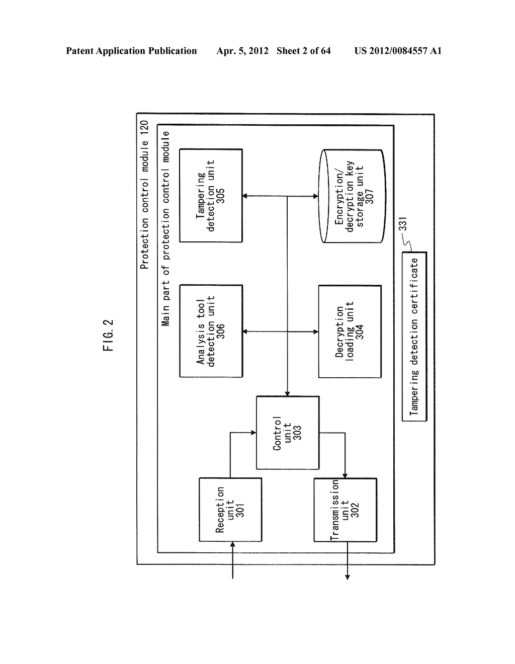 TAMPERING MONITORING SYSTEM, CONTROL DEVICE, AND TAMPERING CONTROL METHOD - diagram, schematic, and image 03