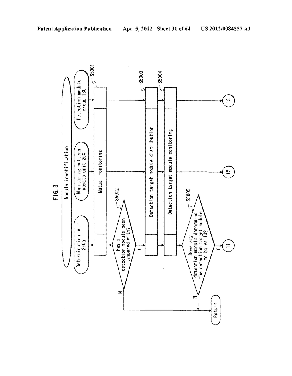 TAMPERING MONITORING SYSTEM, CONTROL DEVICE, AND TAMPERING CONTROL METHOD - diagram, schematic, and image 32