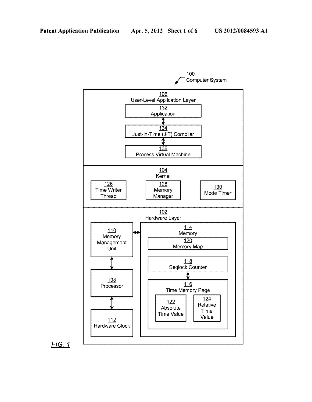 METHOD AND SYSTEM FOR PROVIDING A CURRENT TIME VALUE - diagram, schematic, and image 02