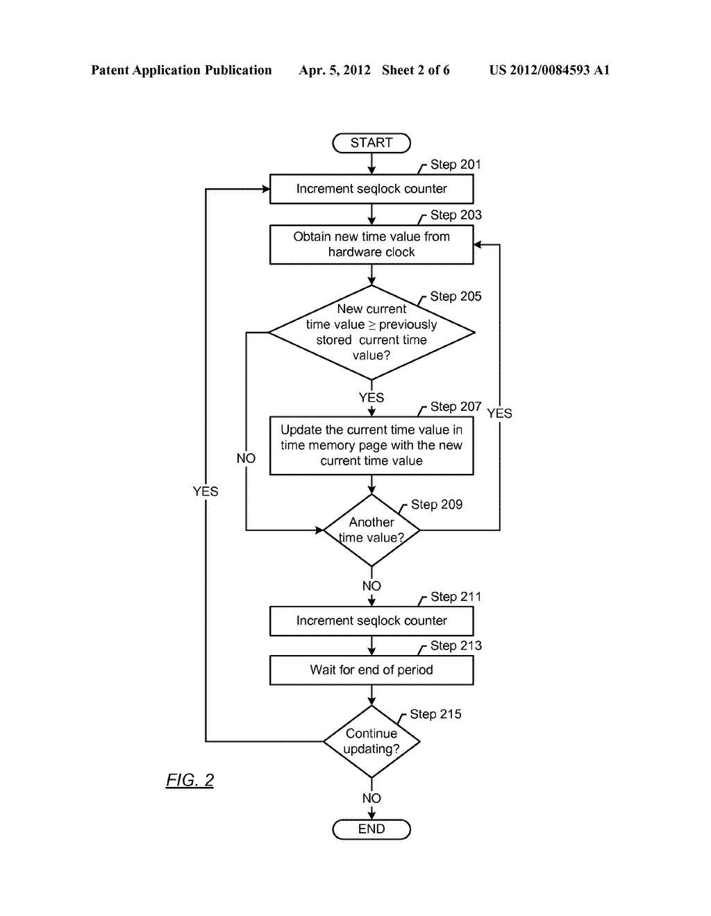 METHOD AND SYSTEM FOR PROVIDING A CURRENT TIME VALUE - diagram, schematic, and image 03
