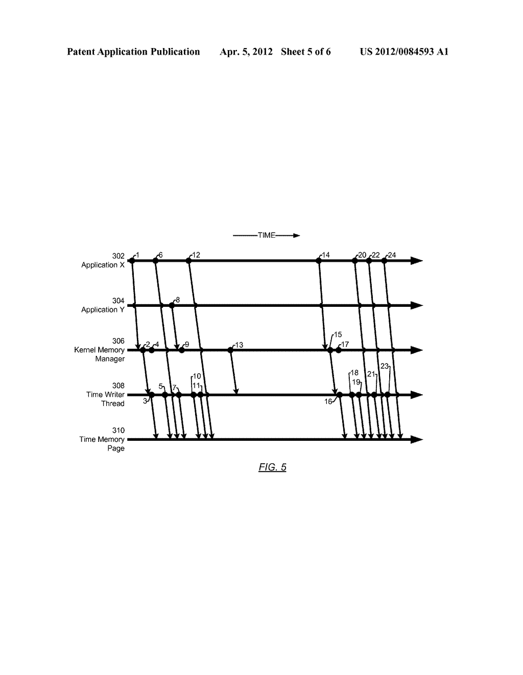 METHOD AND SYSTEM FOR PROVIDING A CURRENT TIME VALUE - diagram, schematic, and image 06