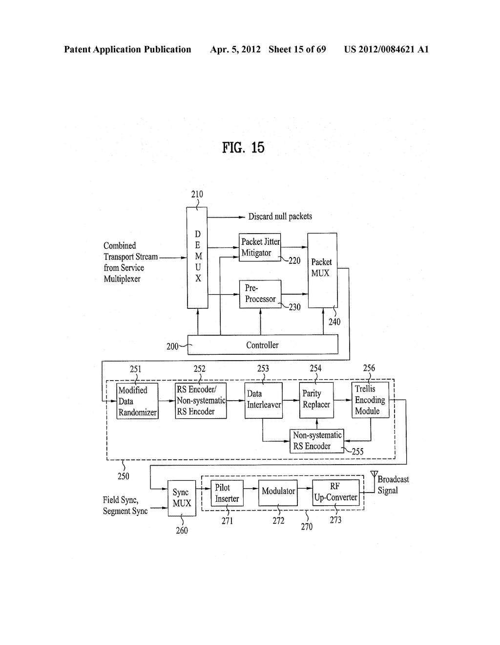 DIGITAL BROADCASTING SYSTEM AND METHOD OF PROCESSING DATA - diagram, schematic, and image 16