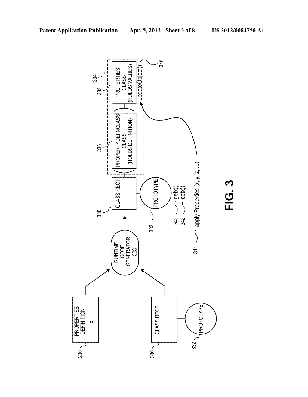 Method for Efficiently Managing Property Types and Constraints In a     Prototype Based Dynamic Programming Language - diagram, schematic, and image 04