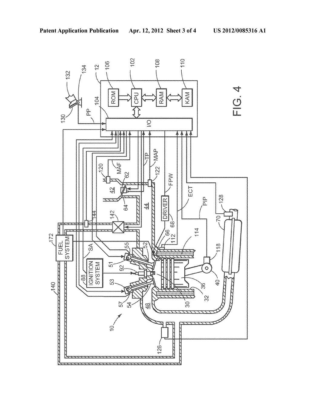 DIRECT-INJECTION INTERNAL COMBUSTION ENGINE WITH INJECTION NOZZLE - diagram, schematic, and image 04