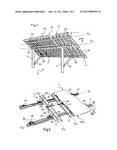 SOLAR MODULE ATTACHMENT DEVICE AND MOUNTING METHOD diagram and image