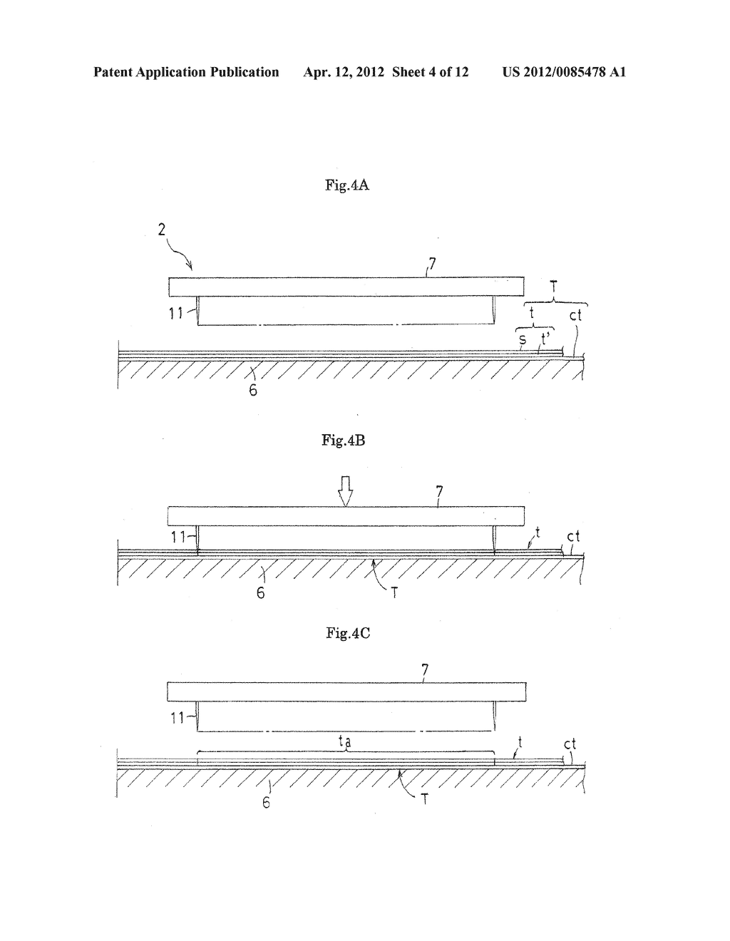DOUBLE-FACED ADHESIVE TAPE JOINING METHOD AND DOUBLE-FACED ADHESIVE TAPE     JOINING APPARATUS - diagram, schematic, and image 05