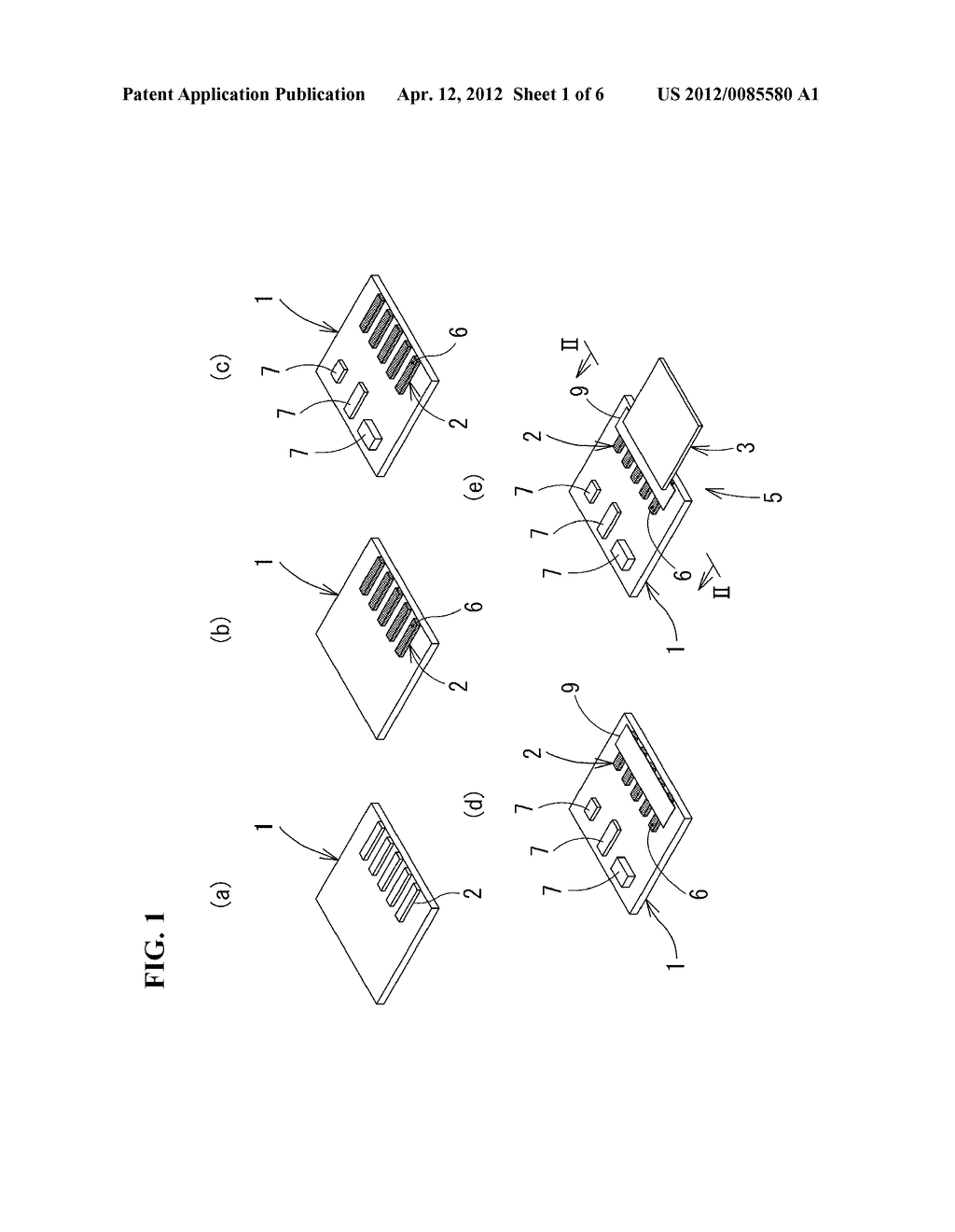 ELECTRODE CONNECTION METHOD, ELECTRODE CONNECTION STRUCTURE, CONDUCTIVE     ADHESIVE USED THEREFOR, AND ELECTRONIC DEVICE - diagram, schematic, and image 02