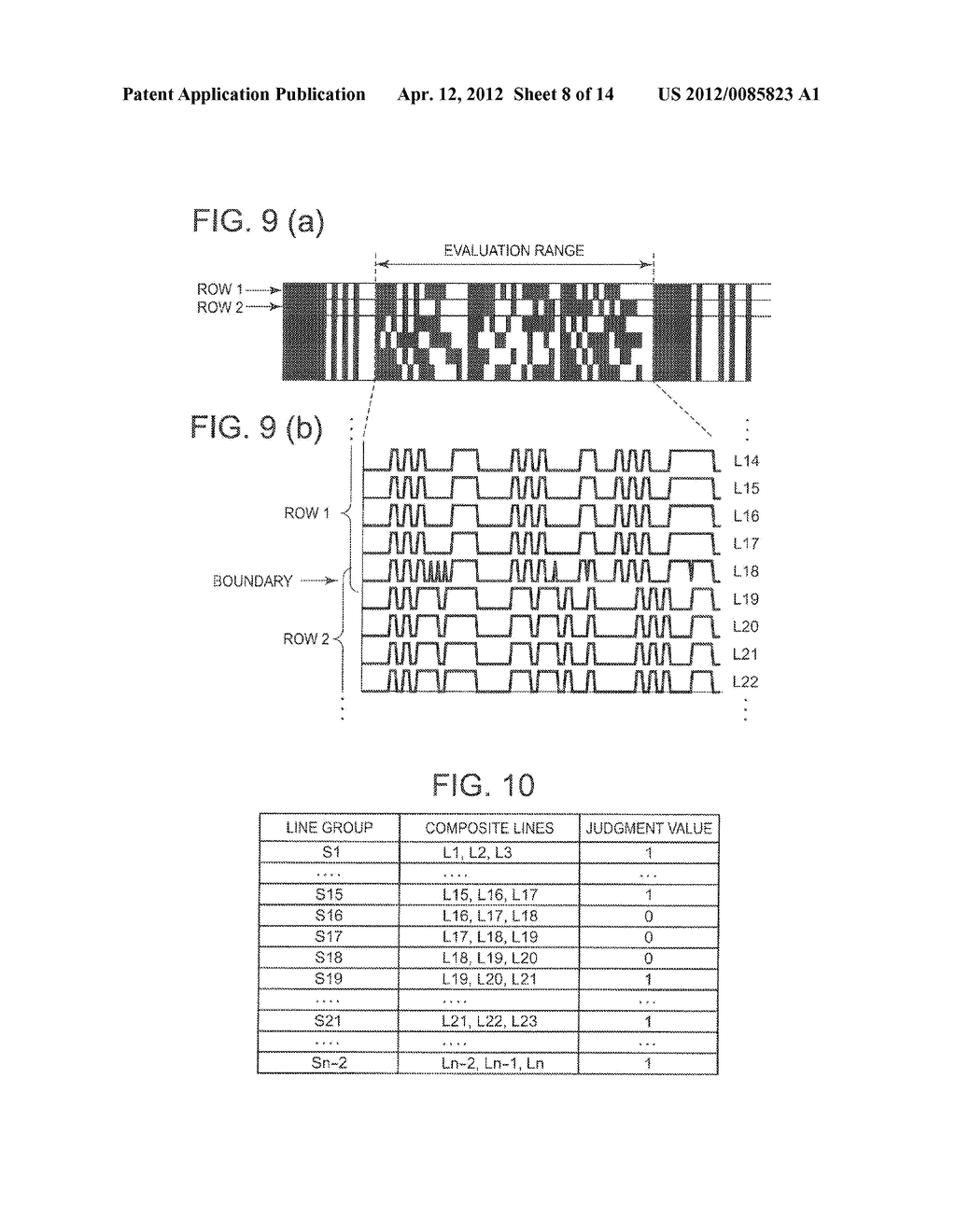 STACKED BARCODE READER AND STACKED BARCODE READING METHOD - diagram, schematic, and image 09