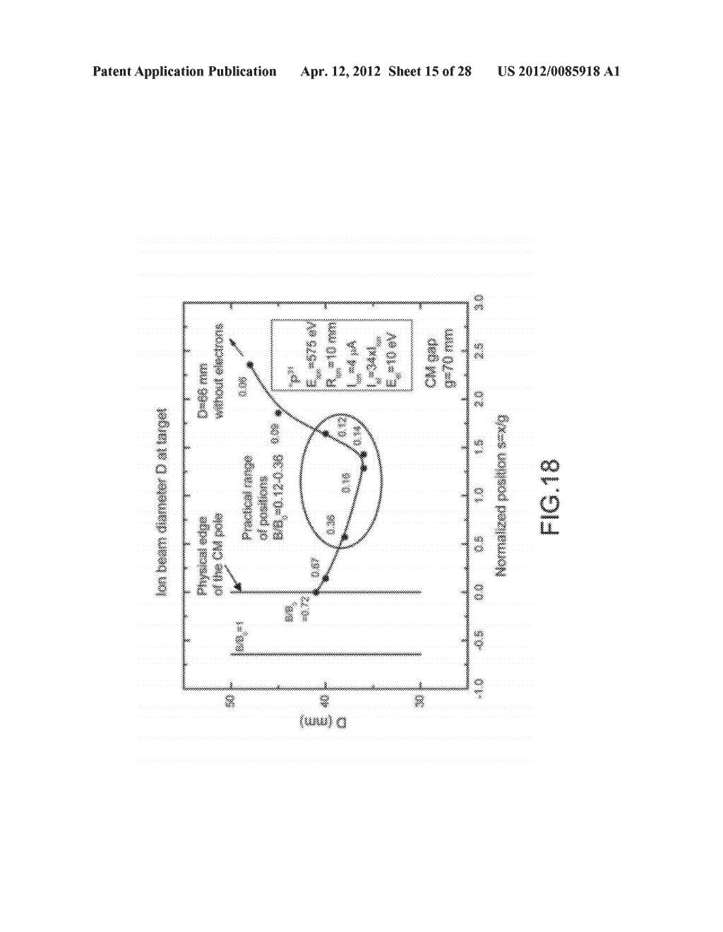 ION BEAM IRRADIATION DEVICE AND METHOD FOR SUPPRESSING ION BEAM DIVERGENCE - diagram, schematic, and image 16