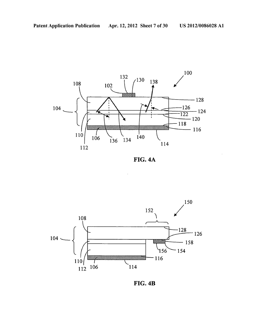 Wavelength conversion chip for use with light emitting diodes and method     for making same - diagram, schematic, and image 08