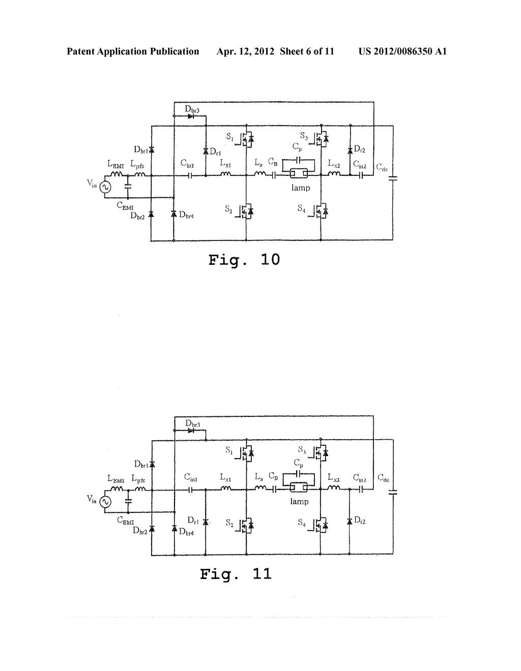 Full Bridge Electronic Ballast Having Simplified Continuous Class C Amplifier Circuit Diagram Conduction Mode Charge Pump Pfc Schematic And Image 07
