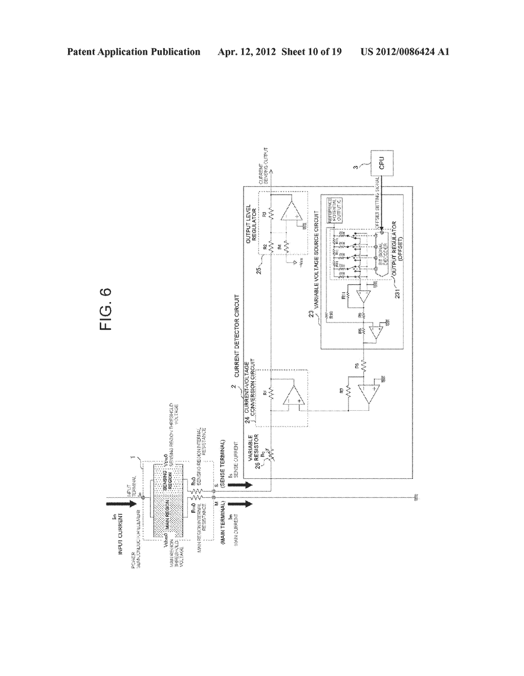 POWER SEMICONDUCTOR DEVICE CURRENT DETECTOR CIRCUIT AND DETECTION METHOD - diagram, schematic, and image 11