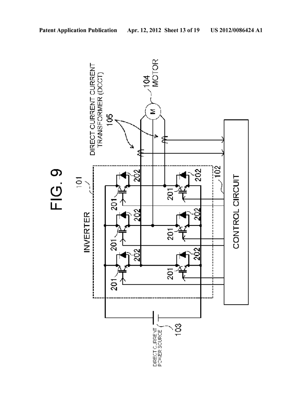 POWER SEMICONDUCTOR DEVICE CURRENT DETECTOR CIRCUIT AND DETECTION METHOD - diagram, schematic, and image 14