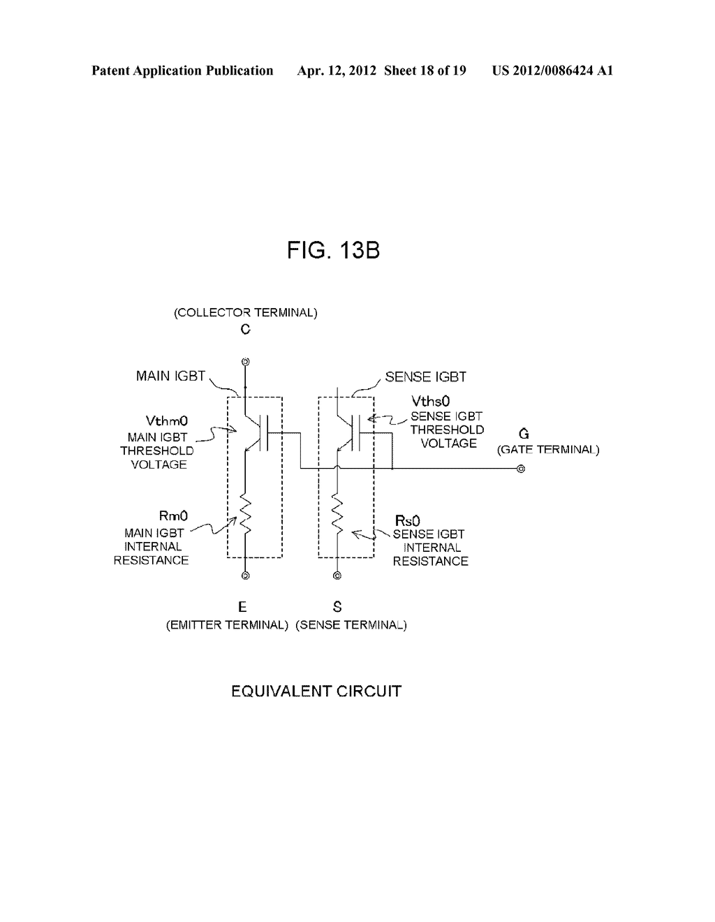 POWER SEMICONDUCTOR DEVICE CURRENT DETECTOR CIRCUIT AND DETECTION METHOD - diagram, schematic, and image 19