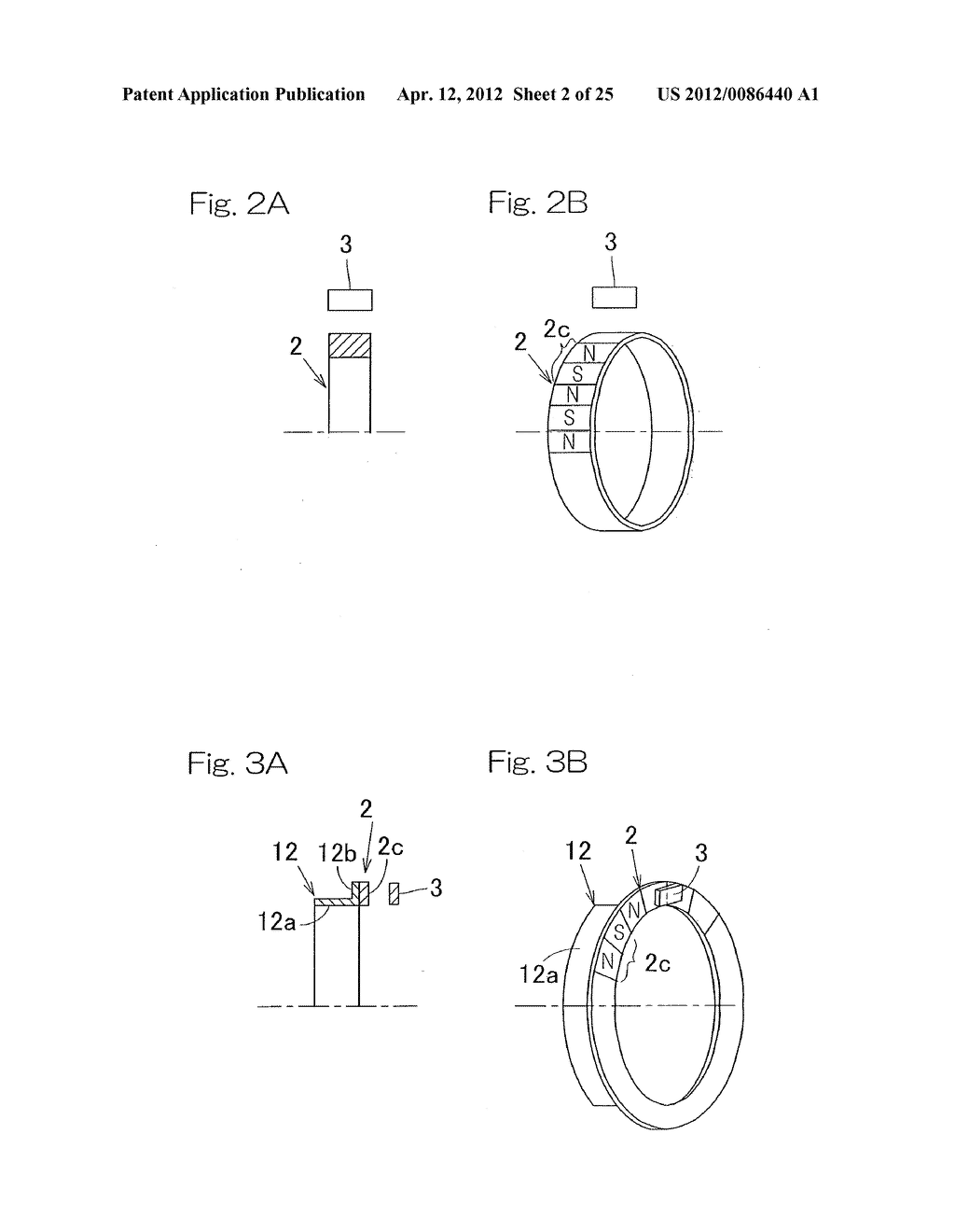 ROTATION DETECTING DEVICE AND BEARING EQUIPPED WITH ROTATION DETECTING     DEVICE - diagram, schematic, and image 03