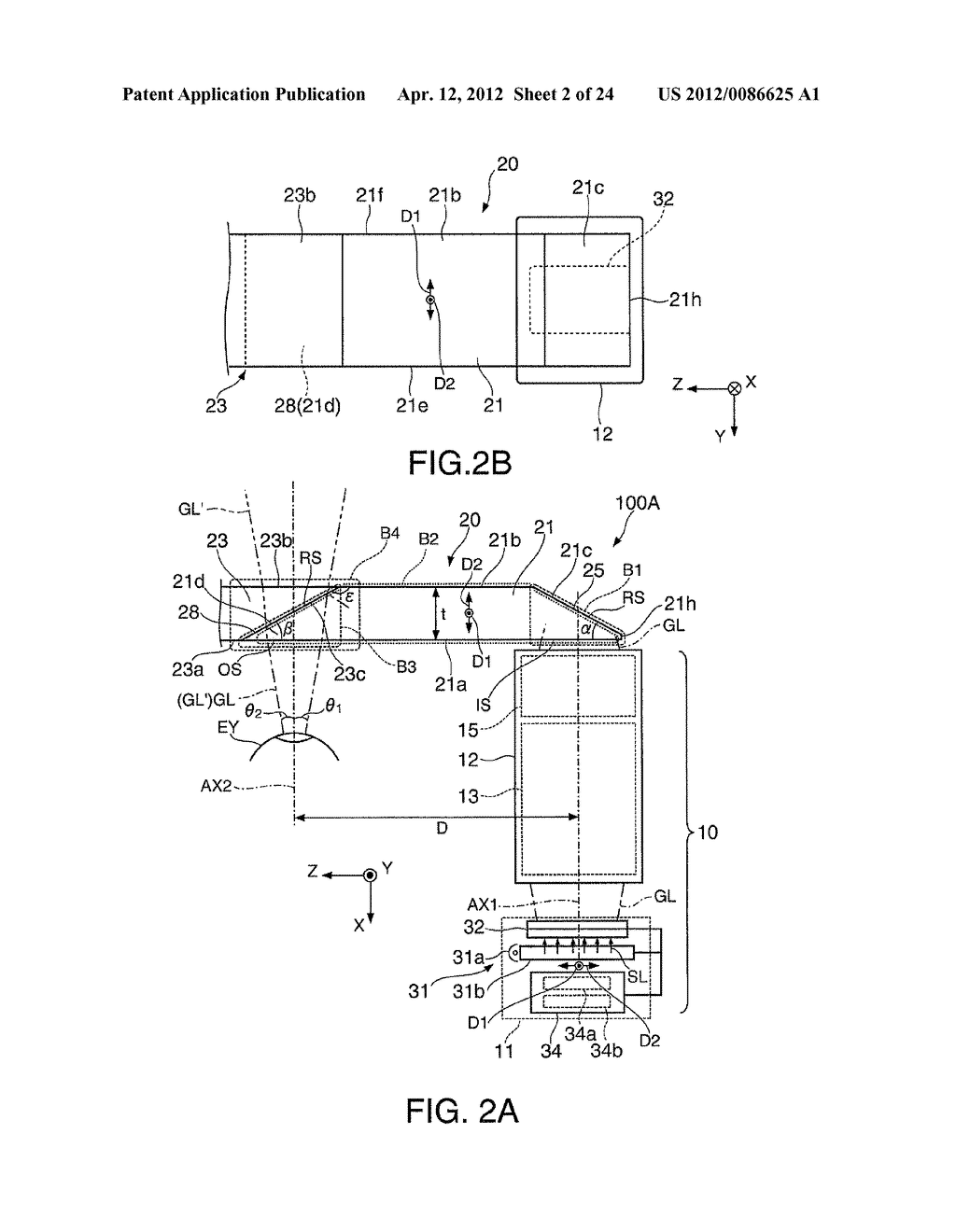 VIRTUAL IMAGE DISPLAY DEVICE - diagram, schematic, and image 03