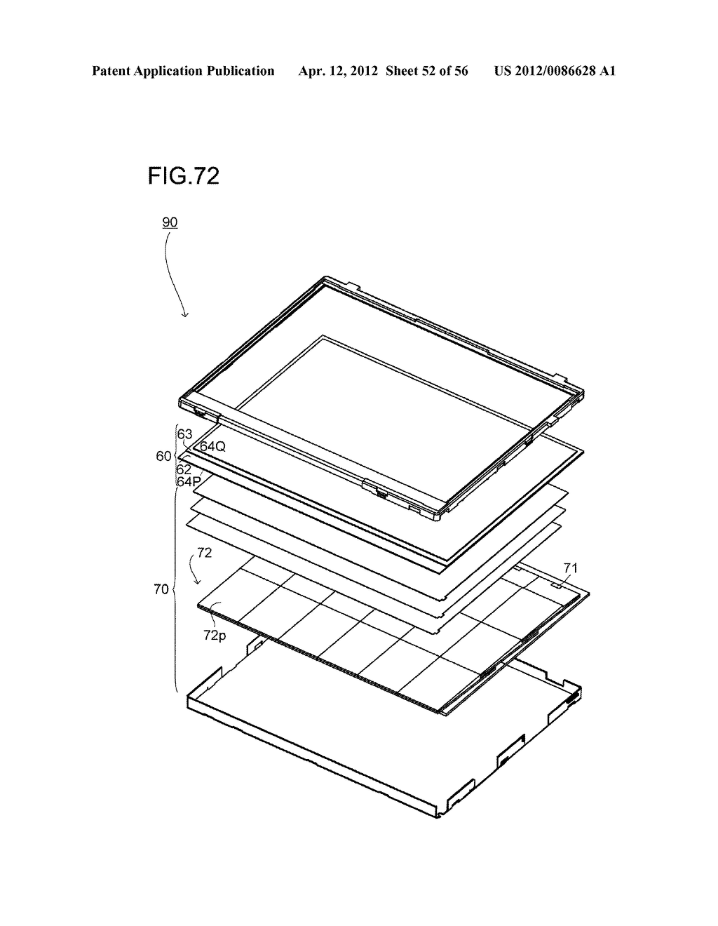 LIQUID CRYSTAL DISPLAY DEVICE AND LIGHT SOURCE CONTROL METHOD - diagram, schematic, and image 53