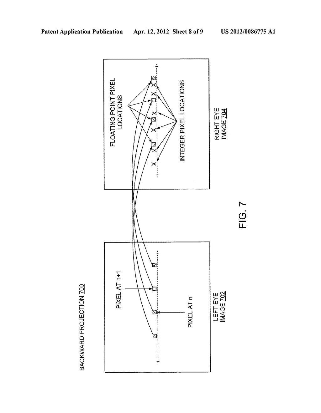 Method And Apparatus For Converting A Two-Dimensional Image Into A     Three-Dimensional Stereoscopic Image - diagram, schematic, and image 09