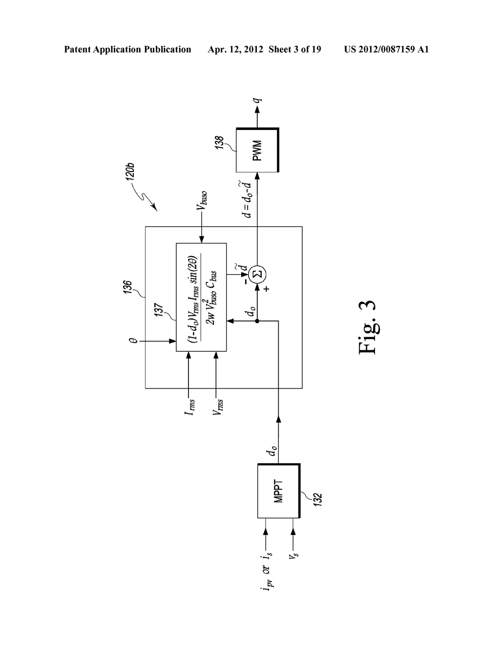 QUADRATURE-CORRECTED FEEDFORWARD CONTROL APPARATUS AND METHOD FOR DC-AC     POWER CONVERSION - diagram, schematic, and image 04