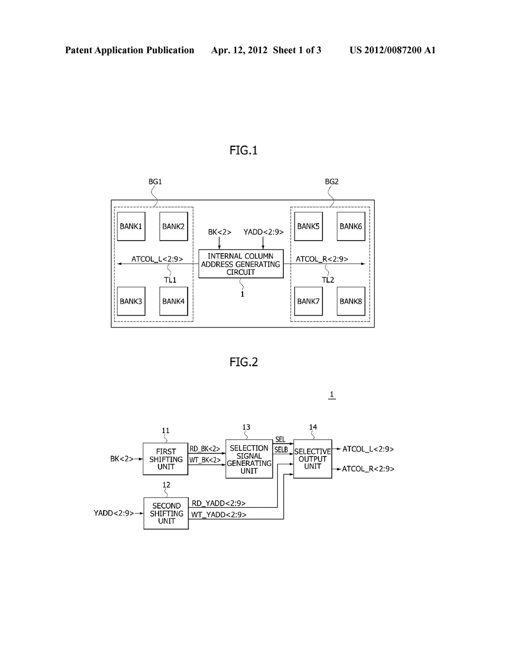 INTERNAL COLUMN ADDRESS GENERATING CIRCUIT AND SEMICONDUCTOR MEMORY DEVICE - diagram, schematic, and image 02