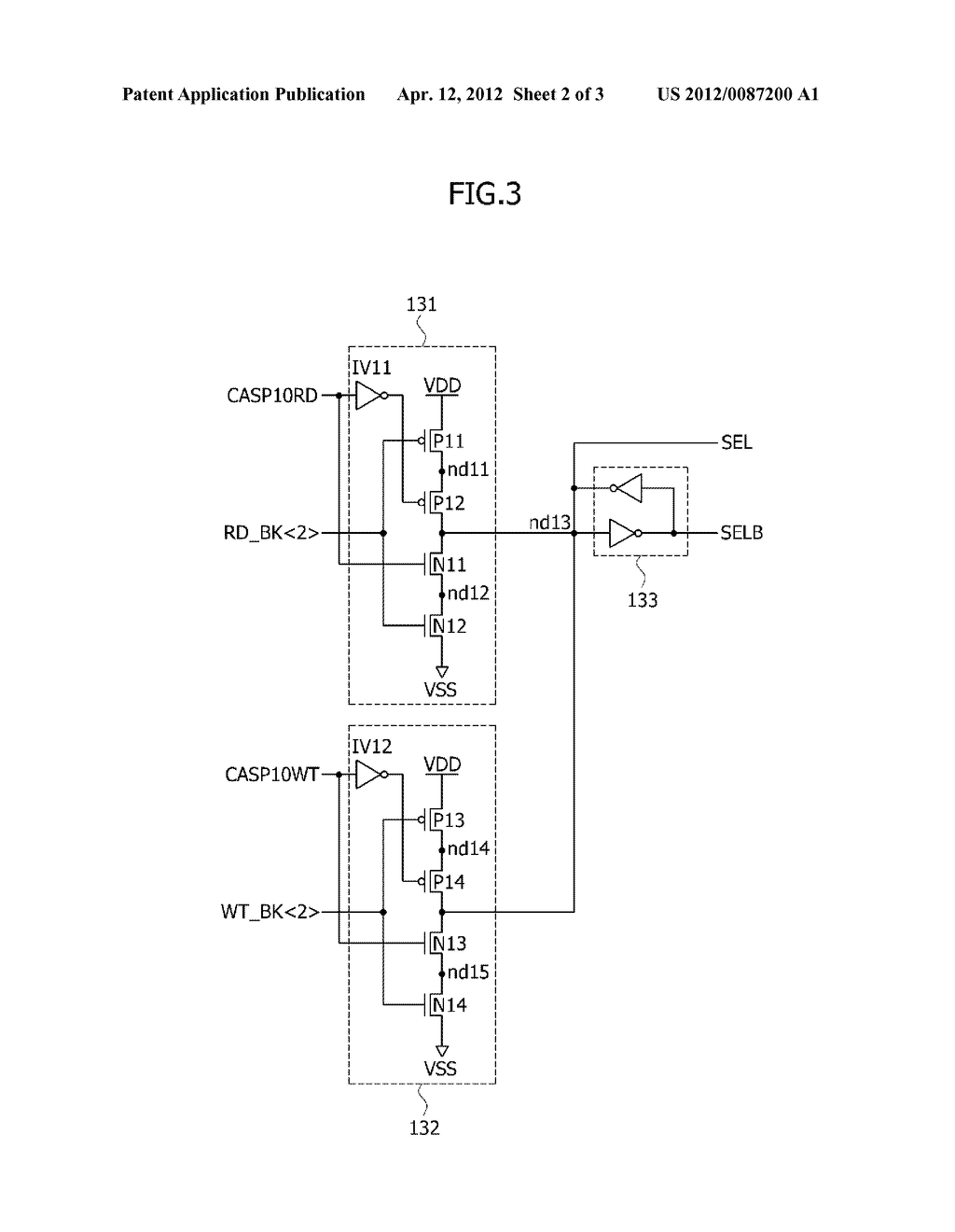 INTERNAL COLUMN ADDRESS GENERATING CIRCUIT AND SEMICONDUCTOR MEMORY DEVICE - diagram, schematic, and image 03