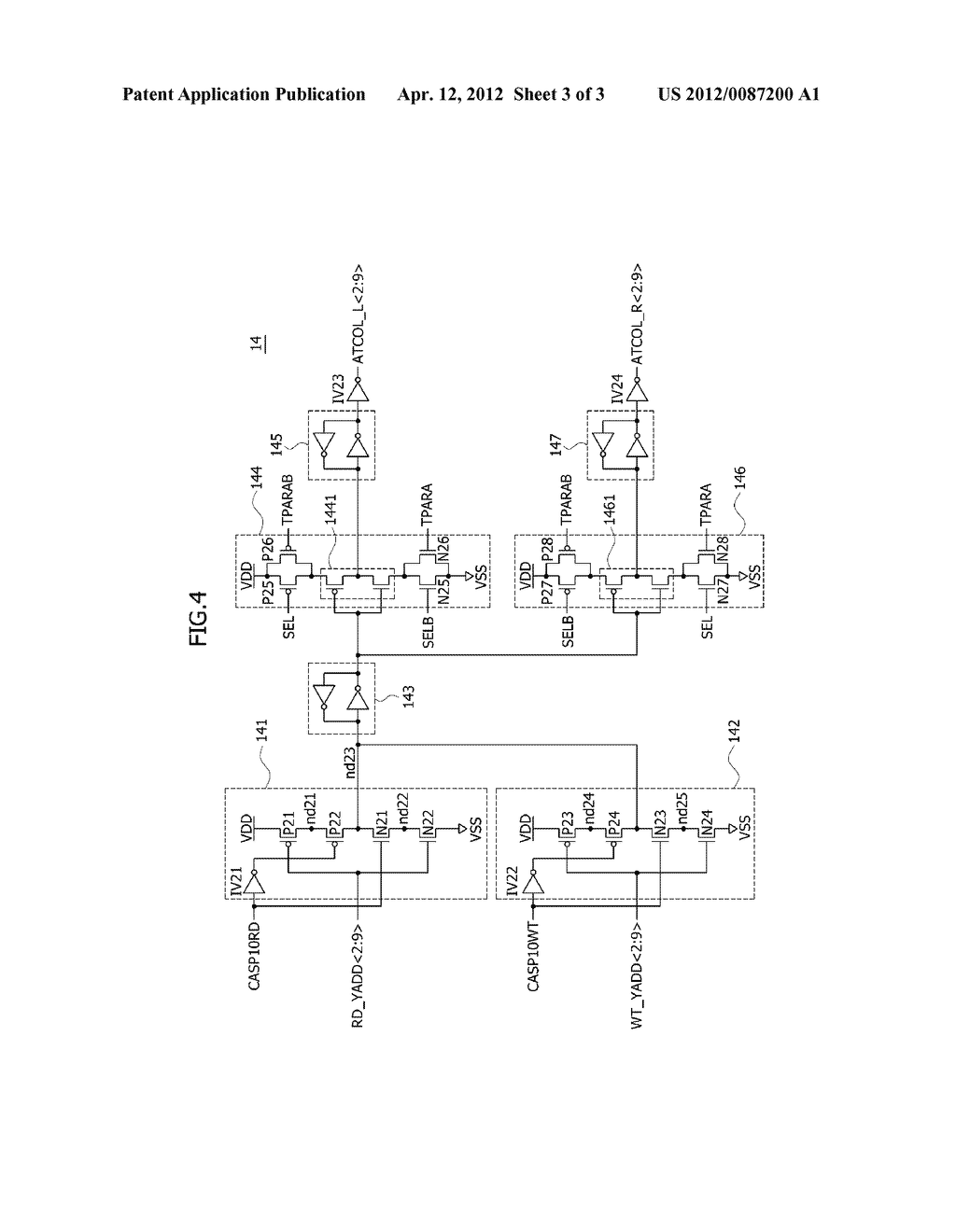INTERNAL COLUMN ADDRESS GENERATING CIRCUIT AND SEMICONDUCTOR MEMORY DEVICE - diagram, schematic, and image 04