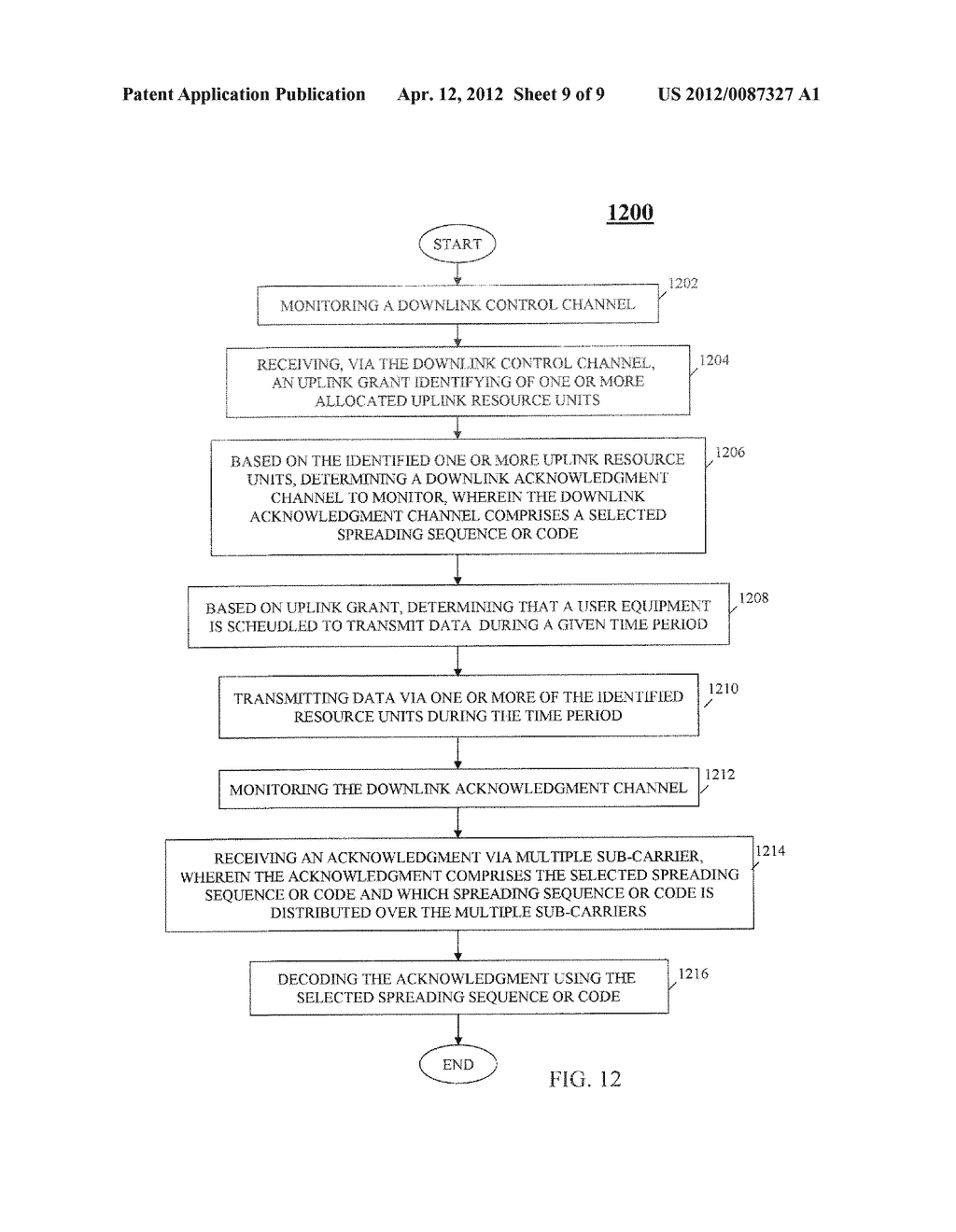 METHOD AND APPARATUS FOR PROVIDING DOWNLINK ACKNOWLEDGEMENTS AND TRANSMIT     INDICATORS IN AN ORTHOGONAL FREQUENCY DIVISION MULTIPLEXING COMMUNICATION     SYSTEM - diagram, schematic, and image 10