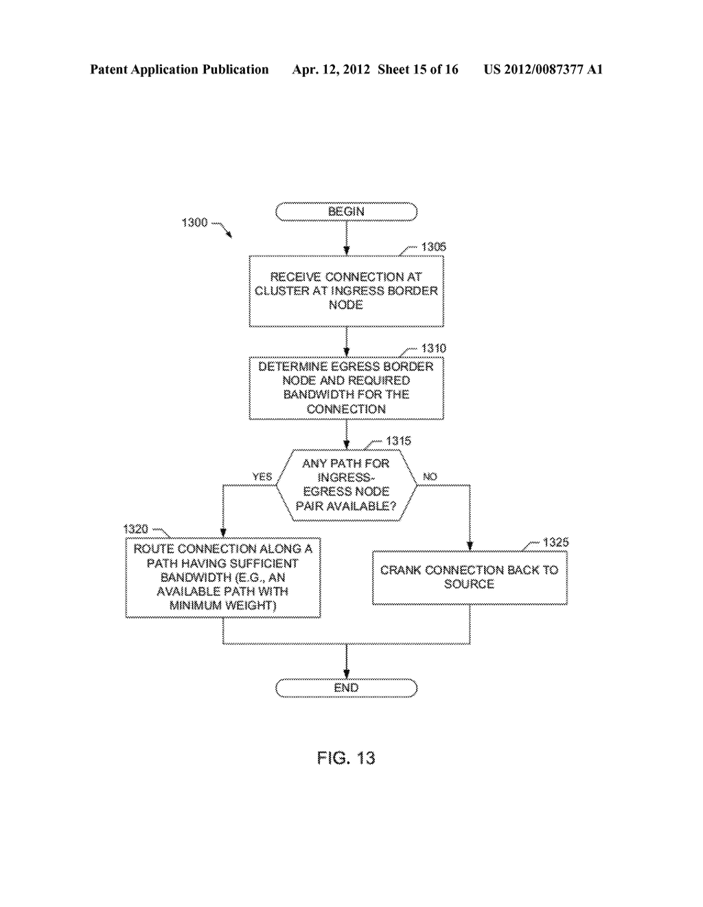 METHODS AND APPARATUS FOR HIERARCHICAL ROUTING IN COMMUNICATION NETWORKS - diagram, schematic, and image 16