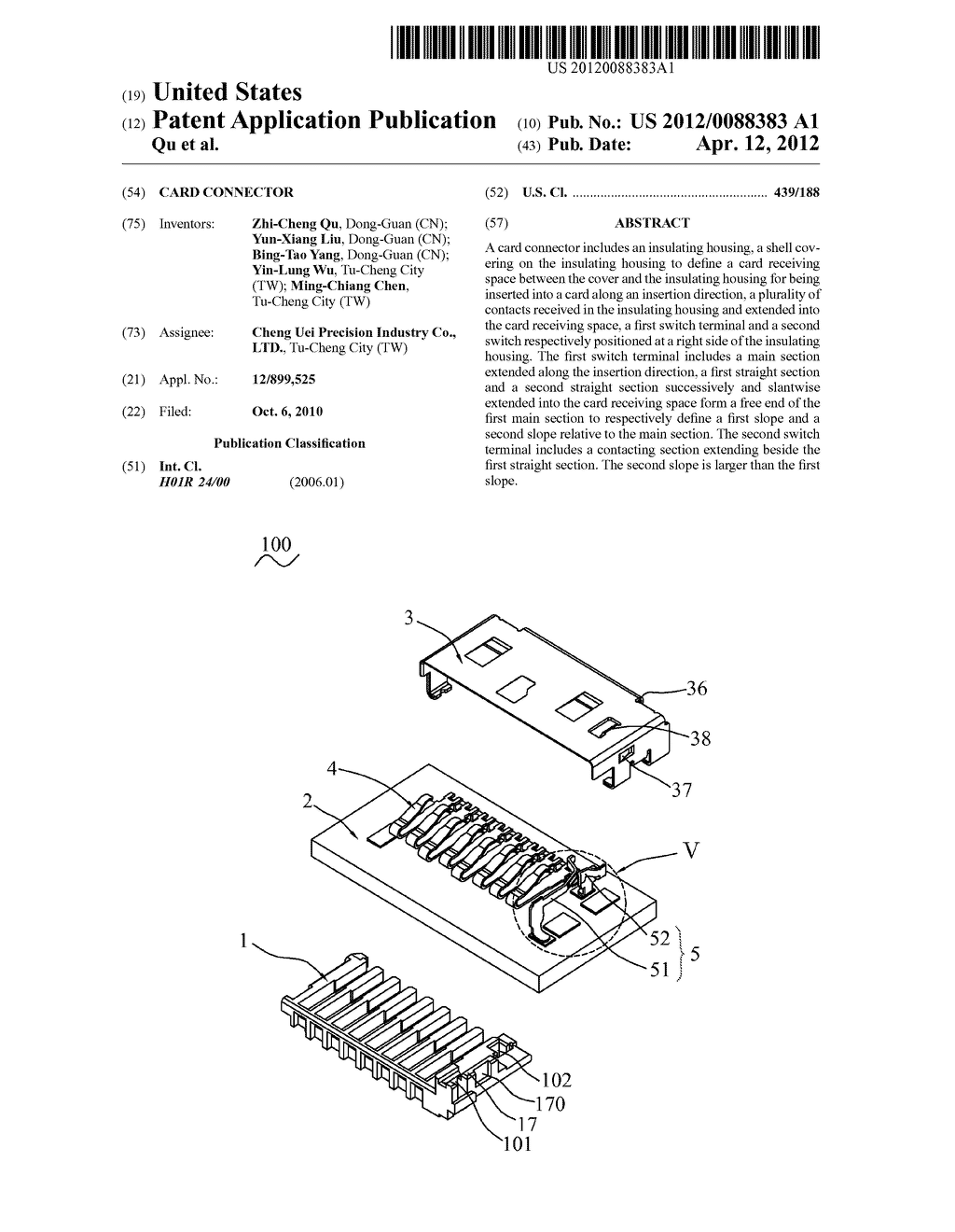 CARD CONNECTOR - diagram, schematic, and image 01
