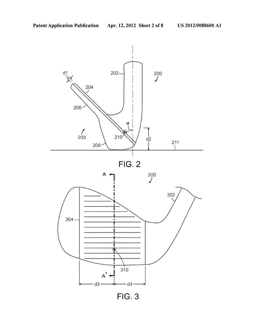 HARDENED GOLF CLUB HEAD - diagram, schematic, and image 03