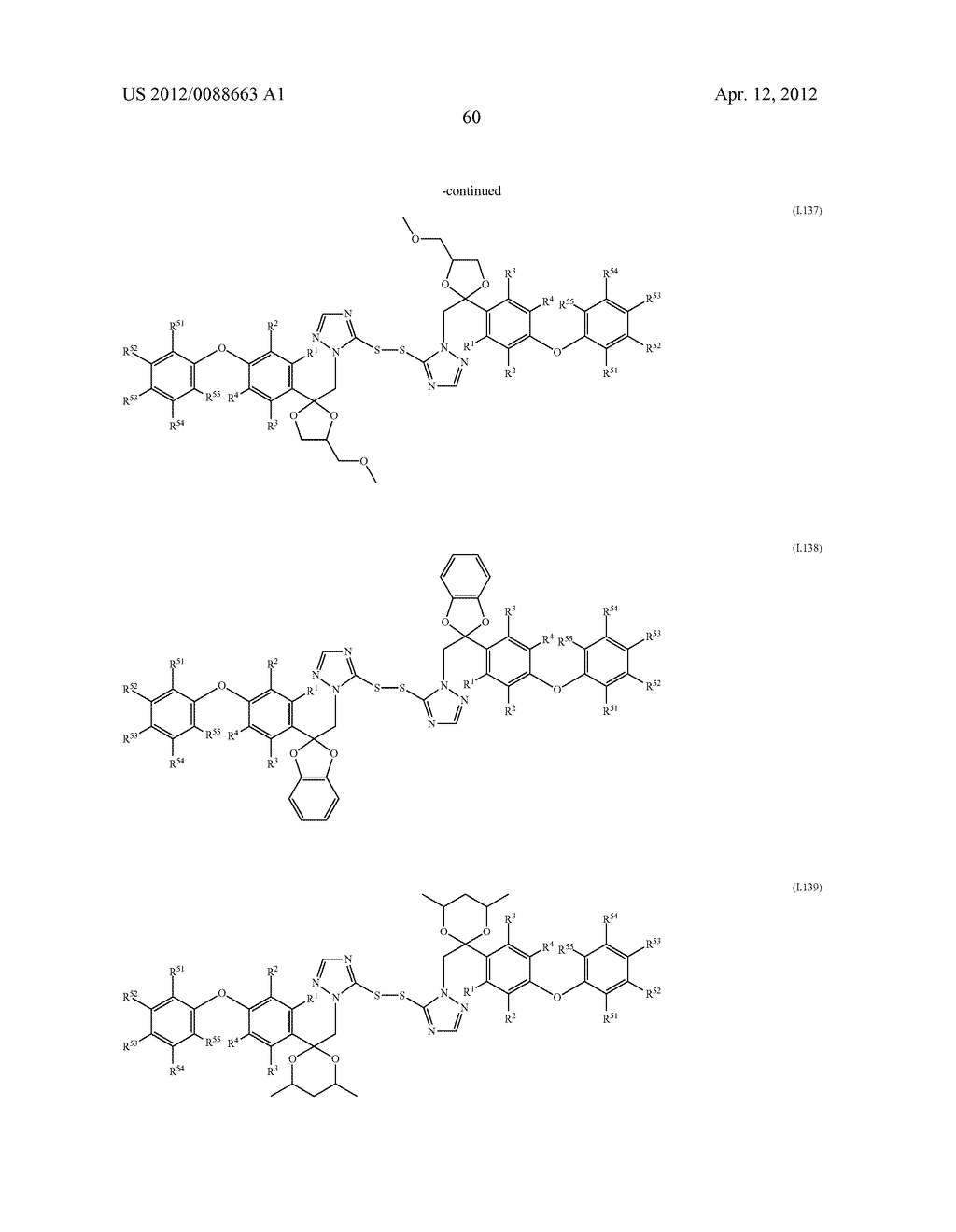 Triazole  Compounds Carrying a Sulfur Substituent - diagram, schematic, and image 61