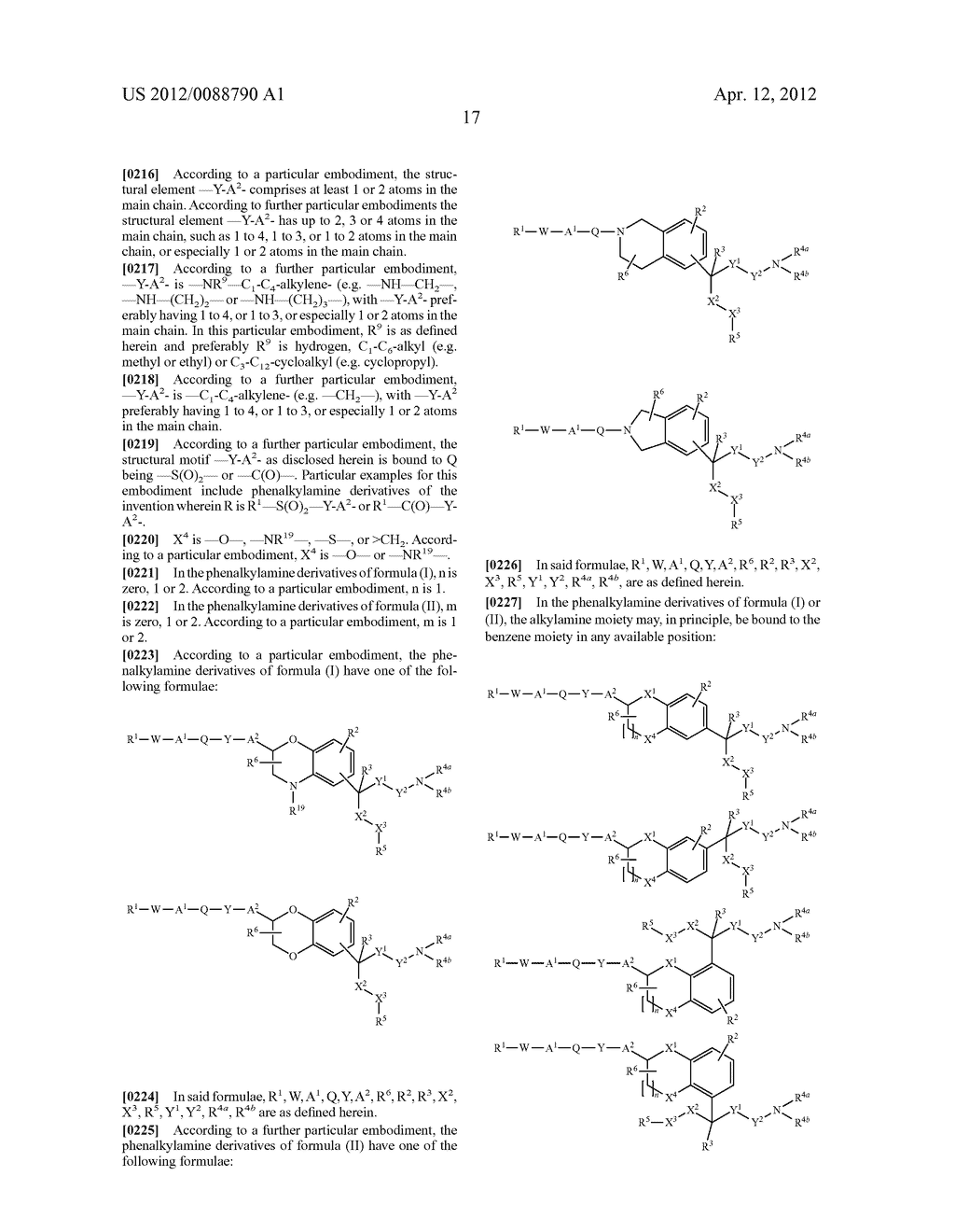PHENALKYLAMINE DERIVATIVES, PHARMACEUTICAL COMPOSITIONS CONTAINING THEM,     AND THEIR USE IN THERAPY - diagram, schematic, and image 18