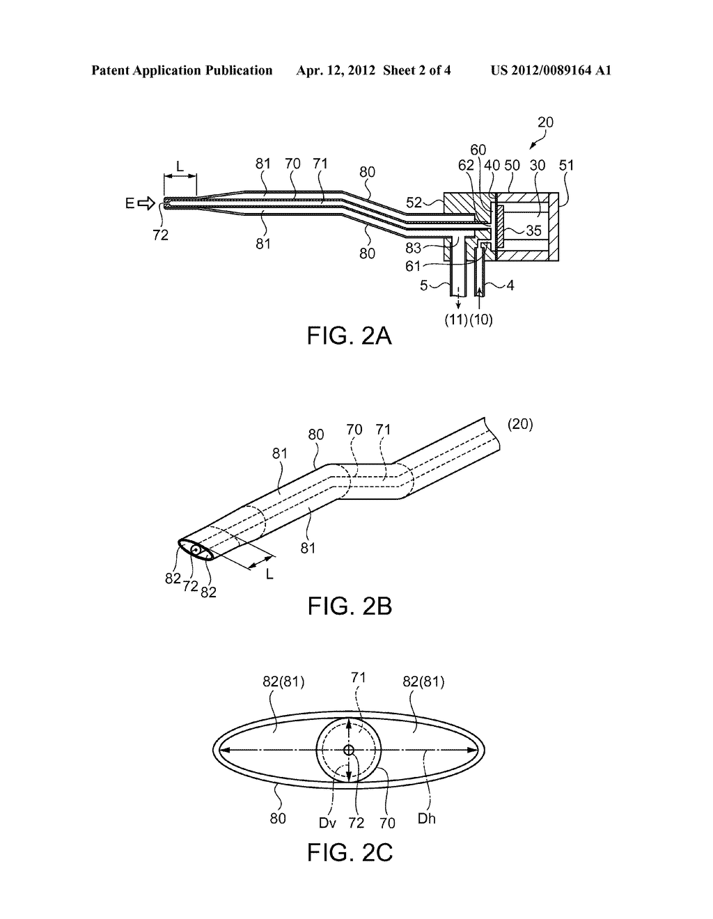 FLUID EJECTION DEVICE AND MEDICAL INSTRUMENT - diagram, schematic, and image 03