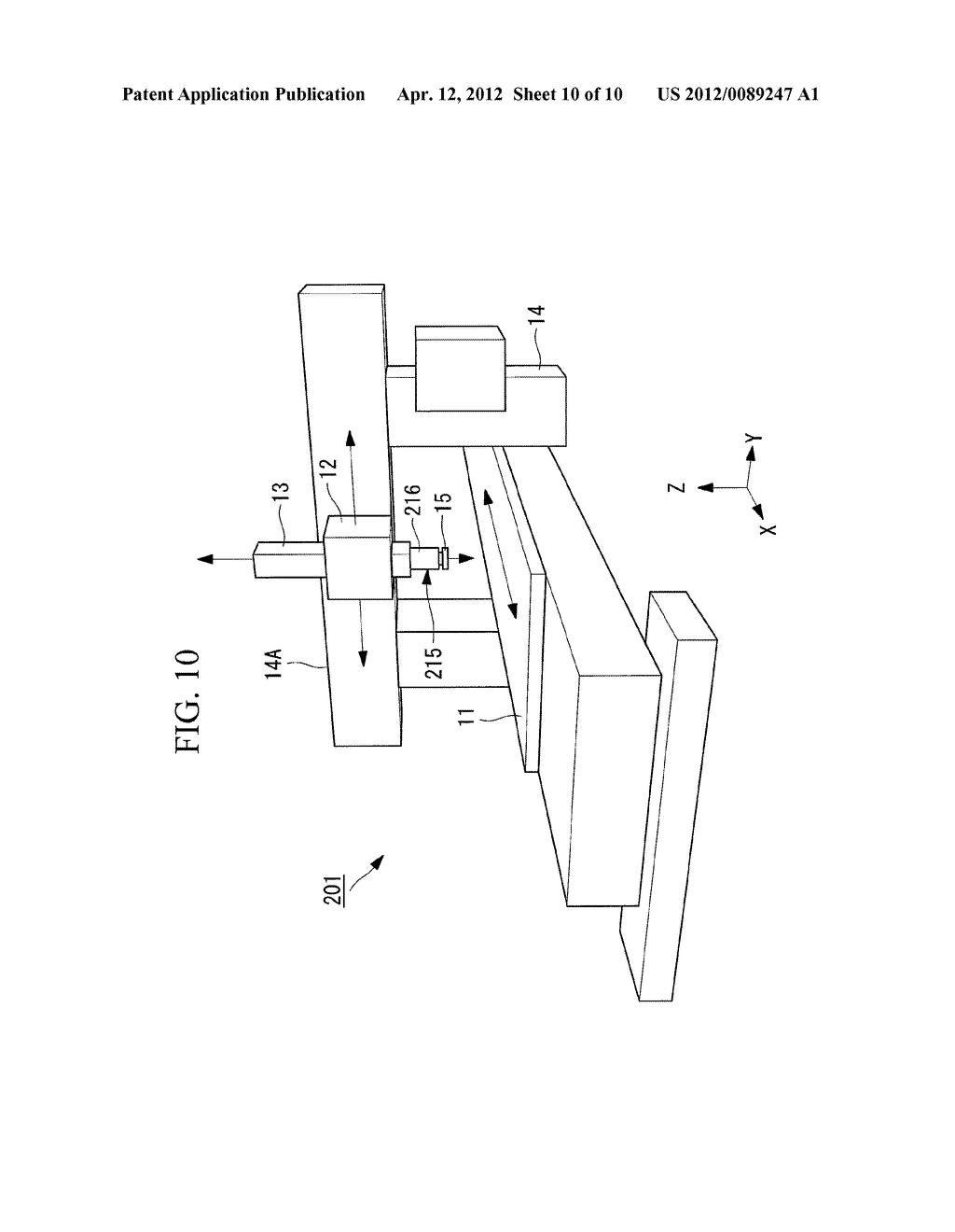WORKPIECE MEASURING DEVICE, COLLISION PREVENTING DEVICE, AND MACHINE TOOL - diagram, schematic, and image 11