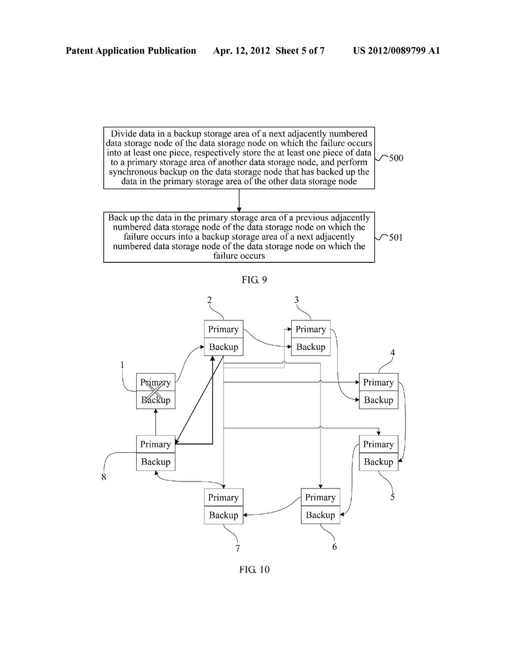 DATA BACKUP PROCESSING METHOD, DATA STORAGE NODE APPARATUS AND DATA     STORAGE DEVICE - diagram, schematic, and image 06