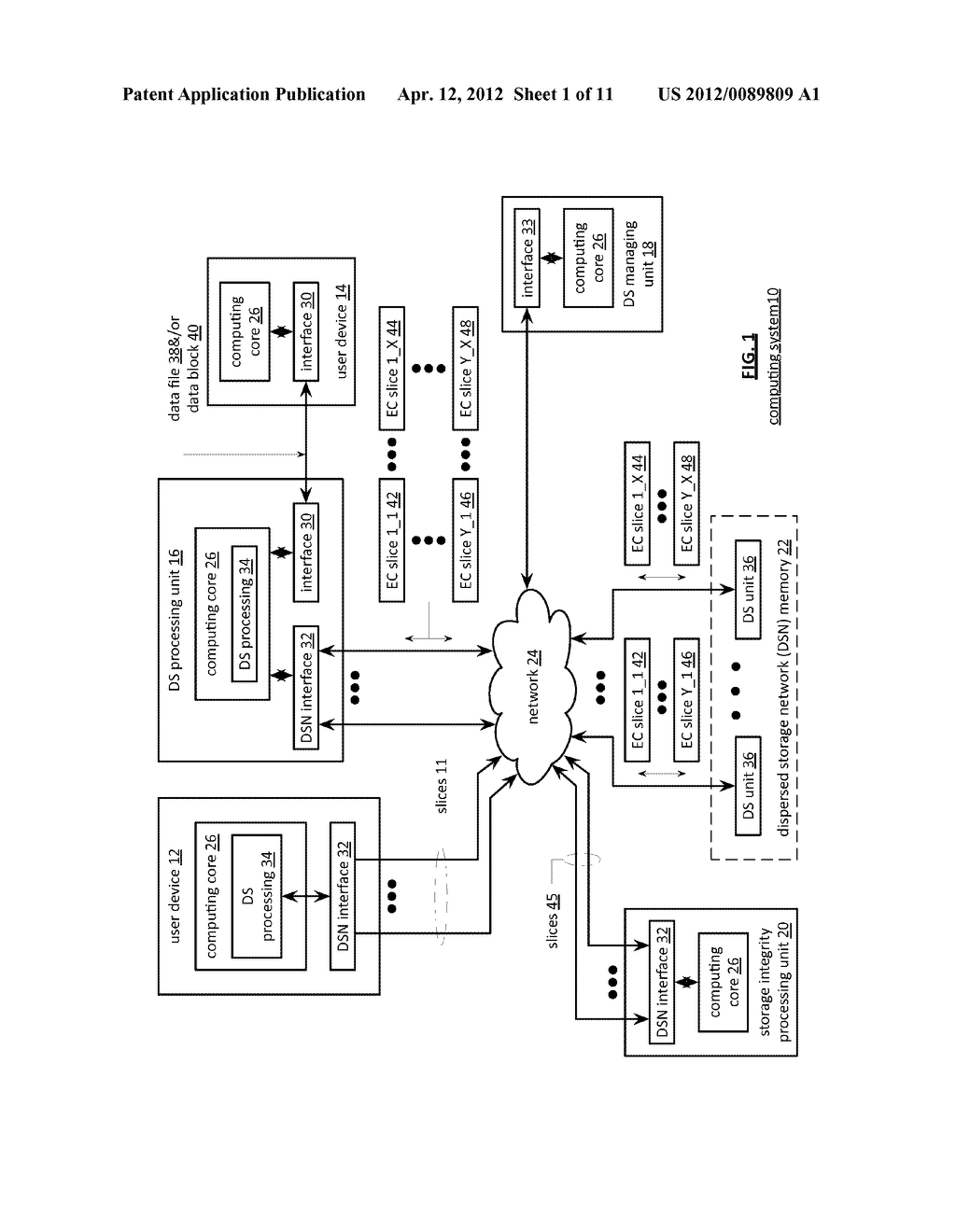 ACCESSING AN ENCODED DATA SLICE UTILIZING A MEMORY BIN - diagram, schematic, and image 02
