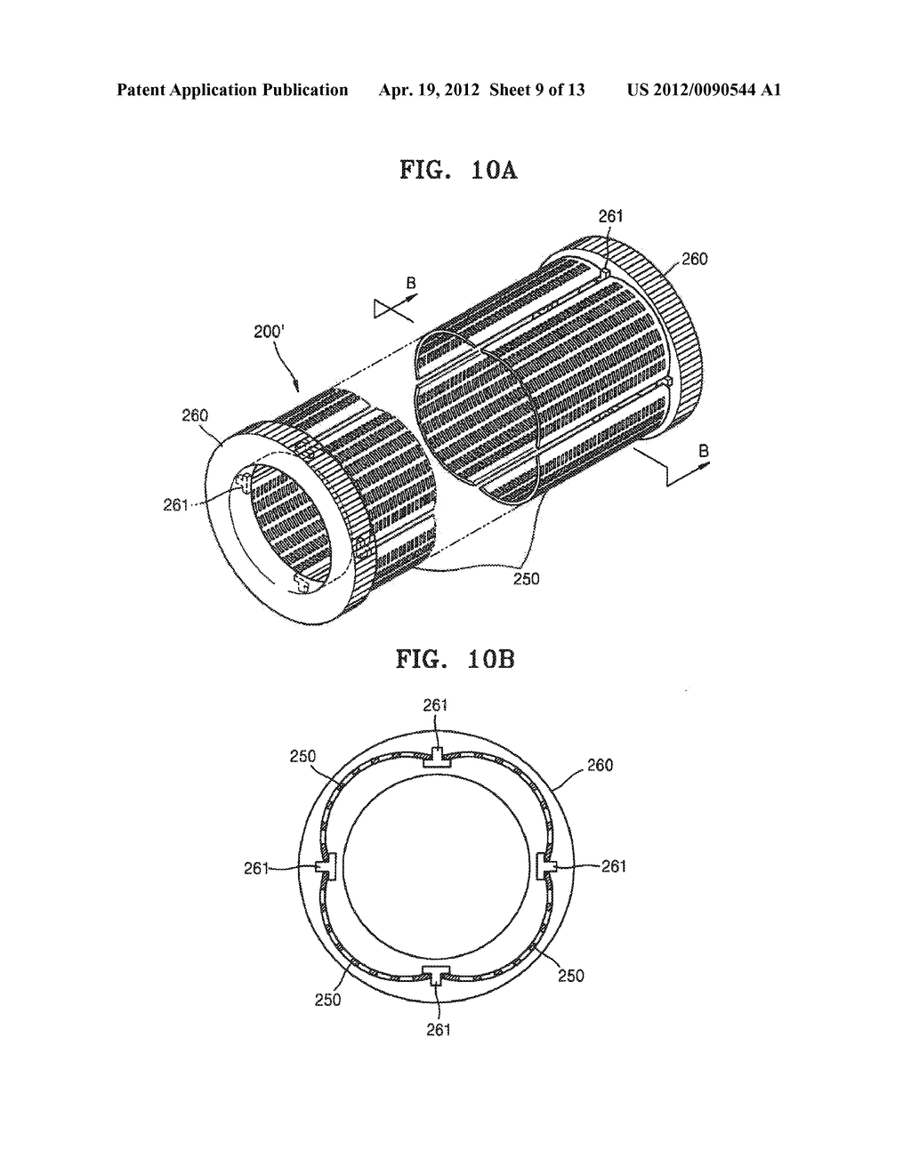 THIN FILM DEPOSITION APPARATUS FOR CONTINUOUS DEPOSITION, AND MASK UNIT     AND CRUCIBLE UNIT INCLUDED IN THIN FILM DEPOSITION APPARATUS - diagram, schematic, and image 10