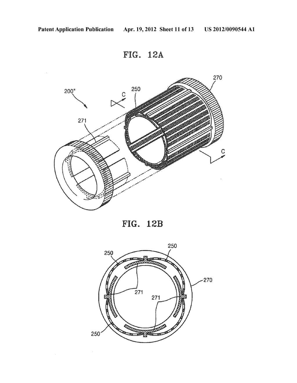 THIN FILM DEPOSITION APPARATUS FOR CONTINUOUS DEPOSITION, AND MASK UNIT     AND CRUCIBLE UNIT INCLUDED IN THIN FILM DEPOSITION APPARATUS - diagram, schematic, and image 12