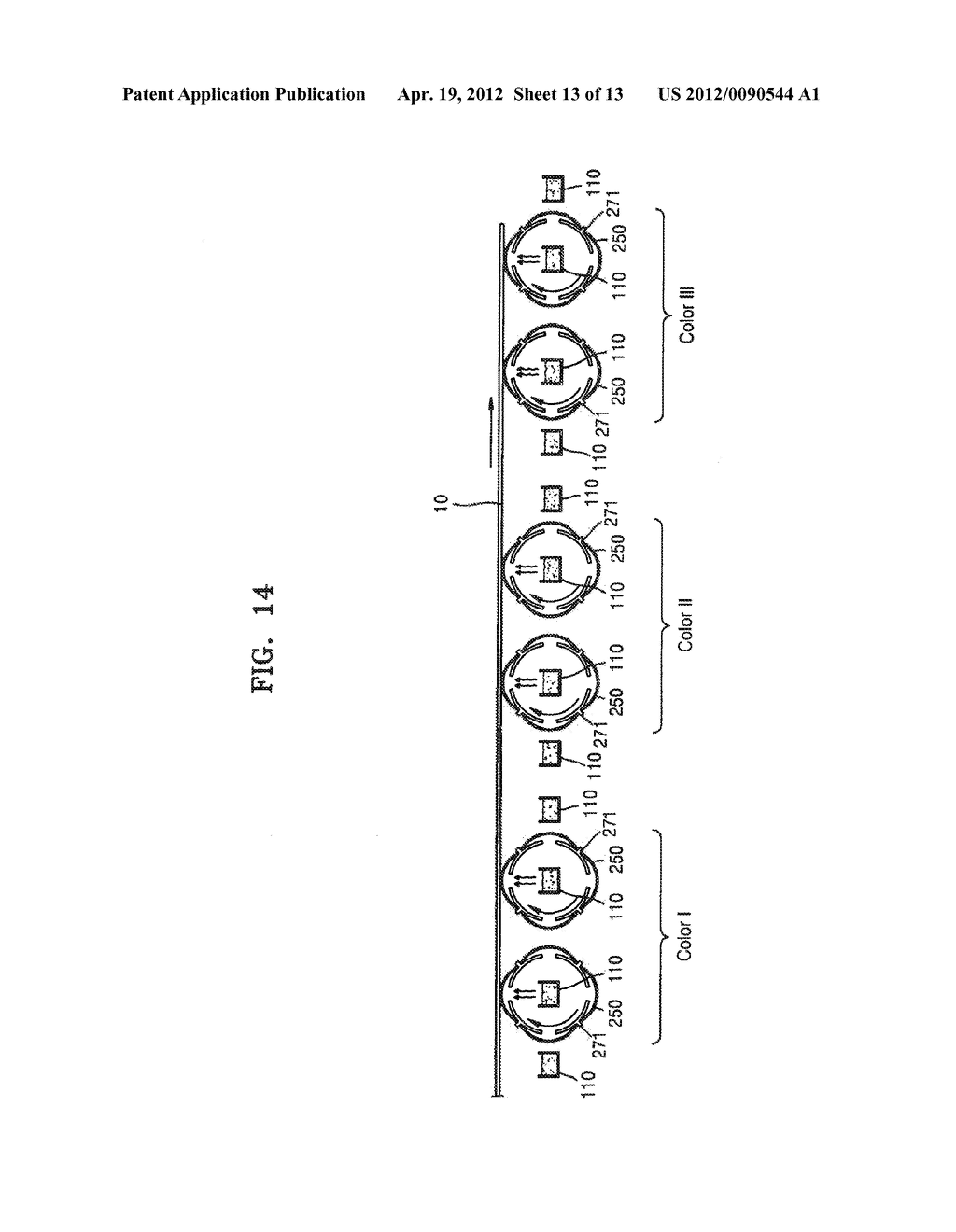 THIN FILM DEPOSITION APPARATUS FOR CONTINUOUS DEPOSITION, AND MASK UNIT     AND CRUCIBLE UNIT INCLUDED IN THIN FILM DEPOSITION APPARATUS - diagram, schematic, and image 14