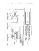 Controller for recreational-vehicle heating system diagram and image