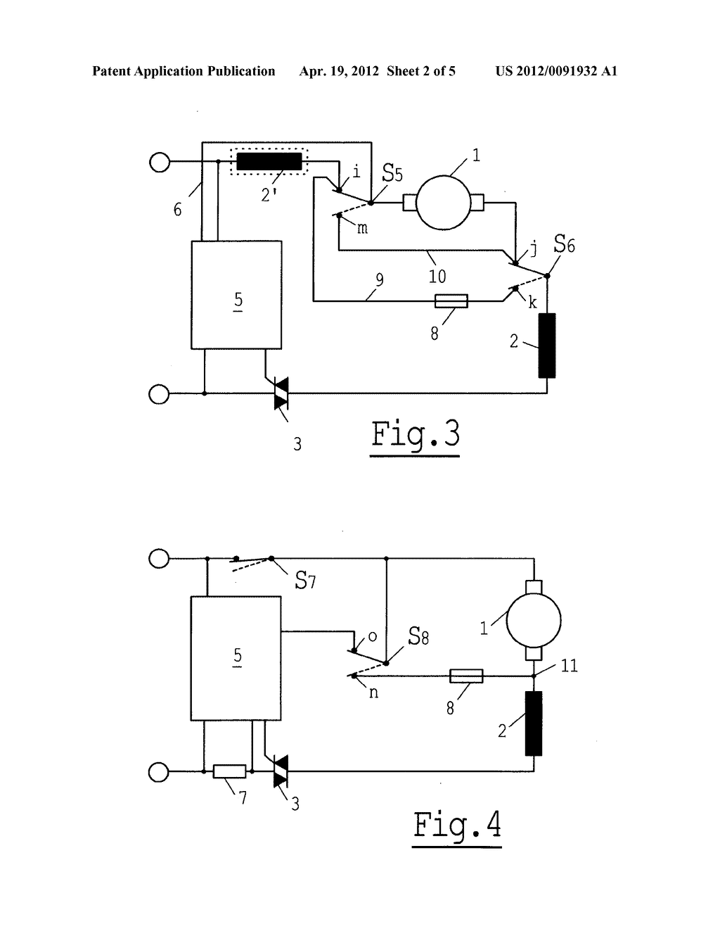 ELECTRODYNAMIC BRAKING DEVICE FOR A UNIVERSAL MOTOR - diagram, schematic,  and image 03