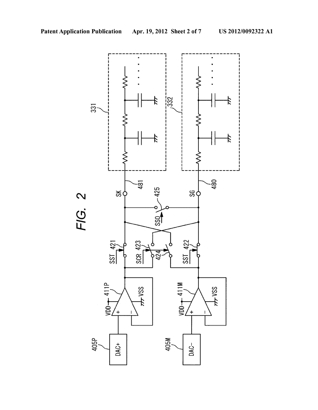 LIQUID CRYSTAL DISPLAY DRIVE CIRCUIT AND METHOD FOR DRIVING SAME - diagram, schematic, and image 03