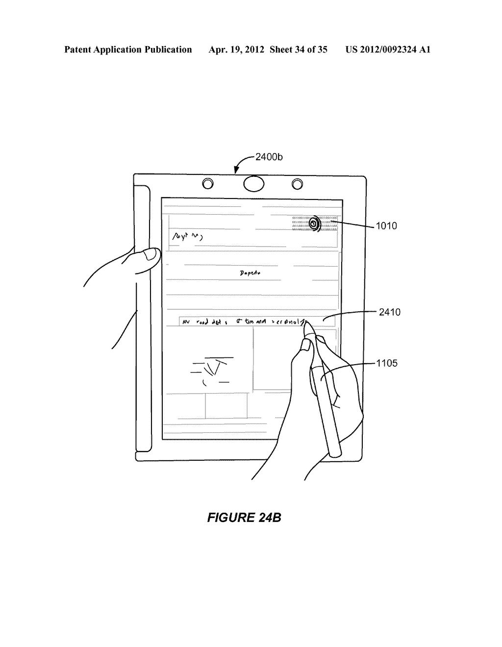TOUCH, HANDWRITING AND FINGERPRINT SENSOR WITH ELASTOMERIC SPACER LAYER - diagram, schematic, and image 35