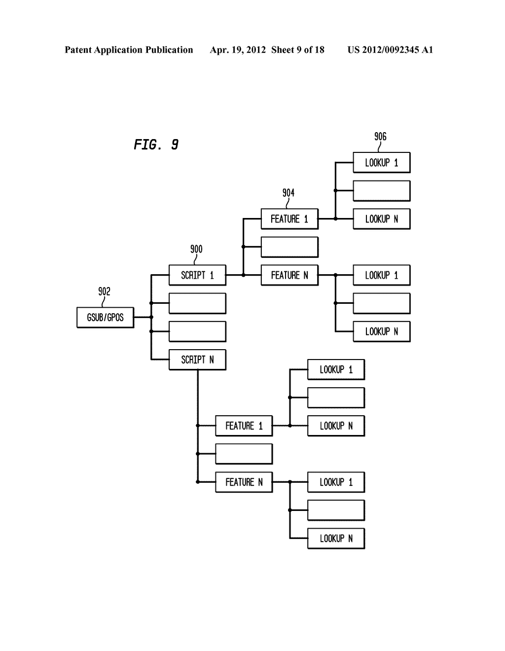 SYSTEM AND METHOD FOR DISPLAYING COMPLEX SCRIPTS WITH A CLOUD COMPUTING     ARCHITECTURE - diagram, schematic, and image 10