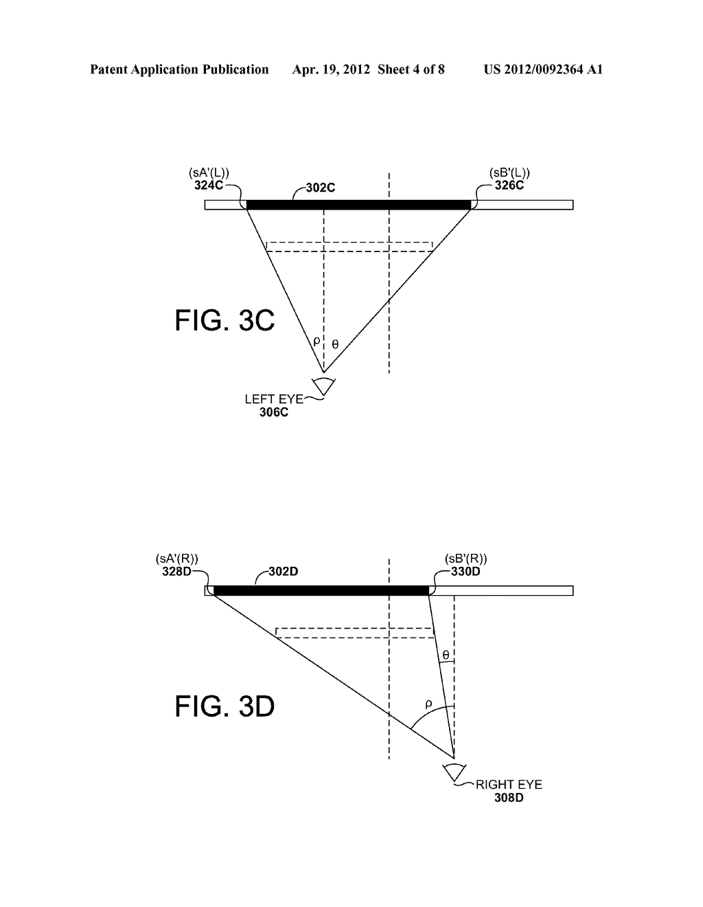 PRESENTING TWO-DIMENSIONAL ELEMENTS IN THREE-DIMENSIONAL STEREO     APPLICATIONS - diagram, schematic, and image 05