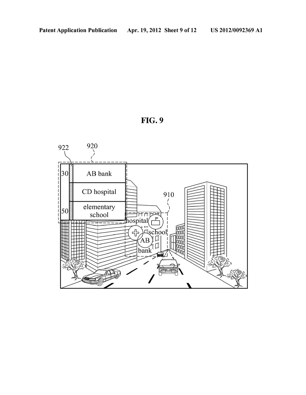 DISPLAY APPARATUS AND DISPLAY METHOD FOR IMPROVING VISIBILITY OF AUGMENTED     REALITY OBJECT - diagram, schematic, and image 10